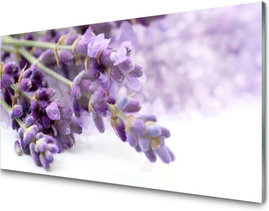 Obraz na skle sklenený Kvety