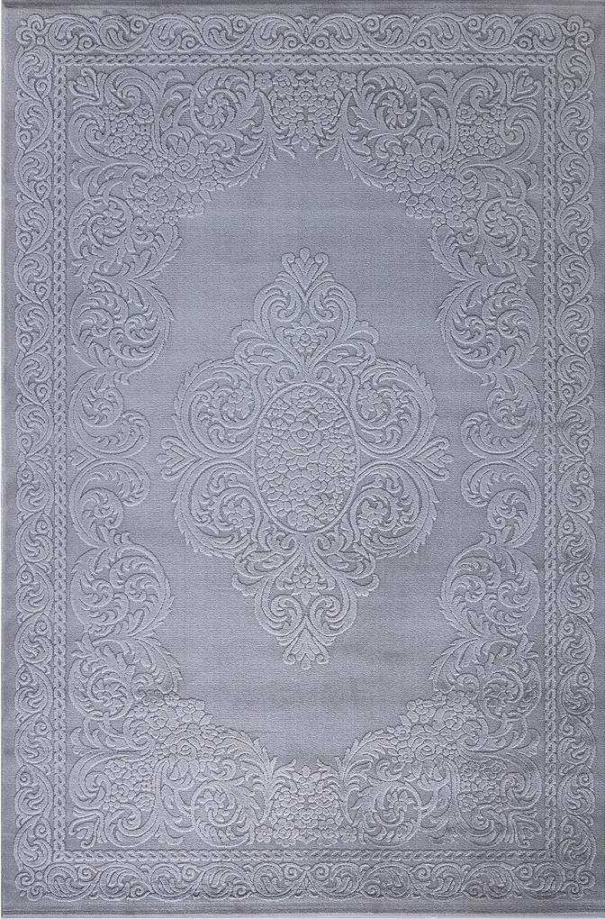 Festival koberce Kusový koberec Doku 9401A Grey - 80x150 cm