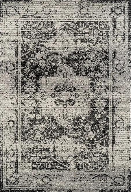 Festival koberce Kusový koberec Rixos K11612-01 Anthracite (640 anthracite) - 80x150 cm