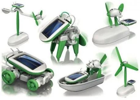 SolarBot 6 v 1 - zelená