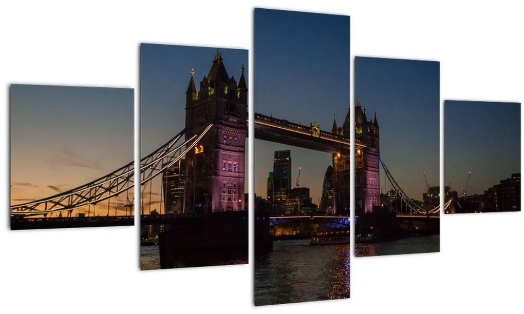 Obraz - Tower bridge (125x70 cm), 40 ďalších rozmerov