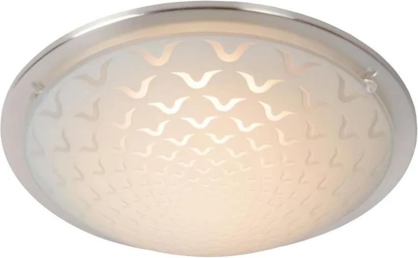 Lucide Lucide 79178/08/12 - LED stropné svietidlo RUNE LED/8W/230V matný chróm LC2264