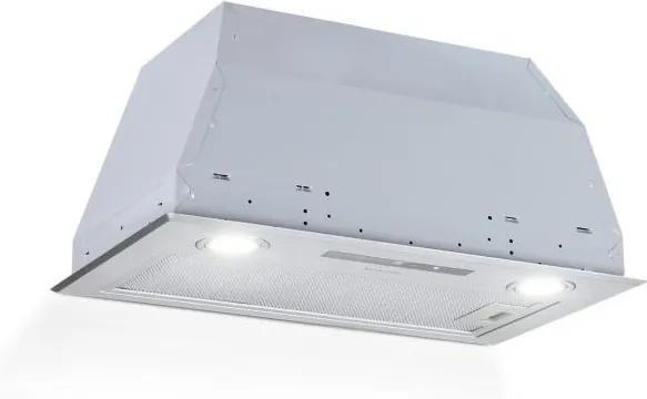 Klarstein Paolo, digestor, vstavaný, 52 cm, odsávanie 600 m³/h, LED, dotykový, ušľachtilá oceľ