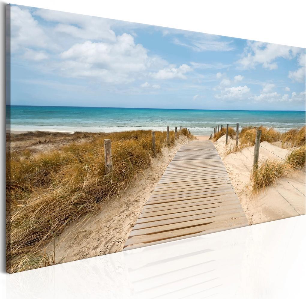 Obraz - Windy Beach 135x45