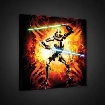 Obraz na plátne štvorec - OB2064 - Star Wars 80cm x 80cm - O2