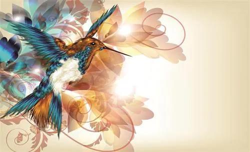 Fototapety, rozmer 368 x 254 cm, kolibřík, IMPOL TRADE 423