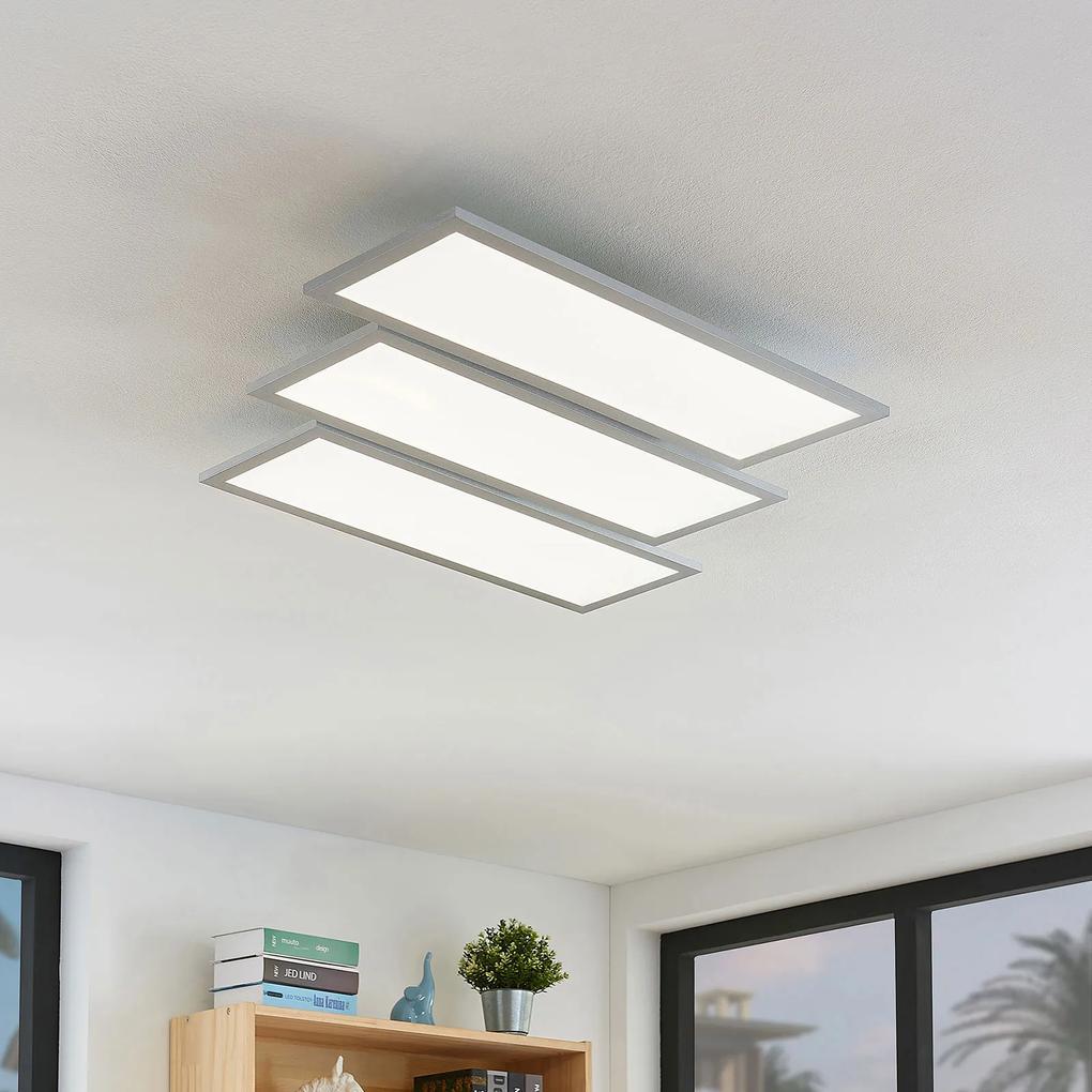 Stropné LED svietidlo Florin stmievateľné 3-plameň