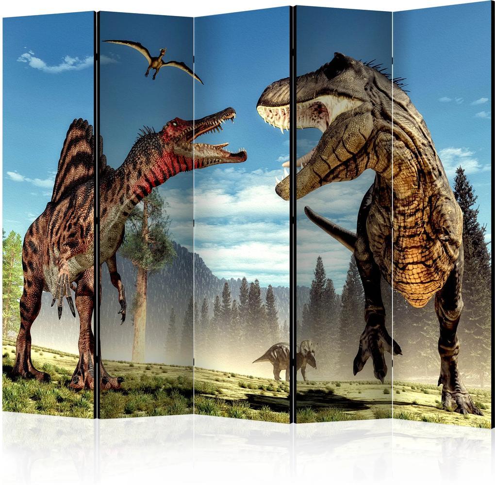 Paraván - Dinosaurs Fight II [Room Dividers] 225x172