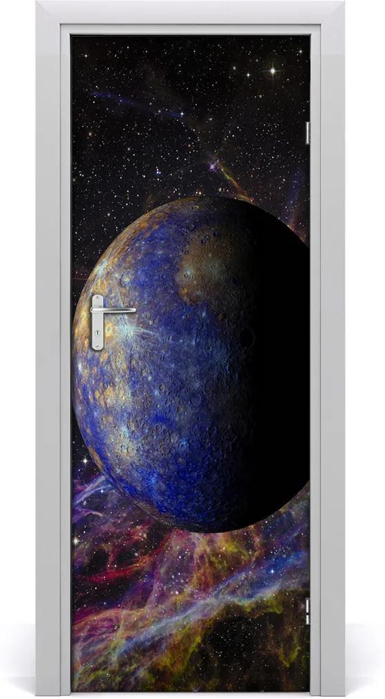 Fototapeta samolepiace na dvere  Merkury
