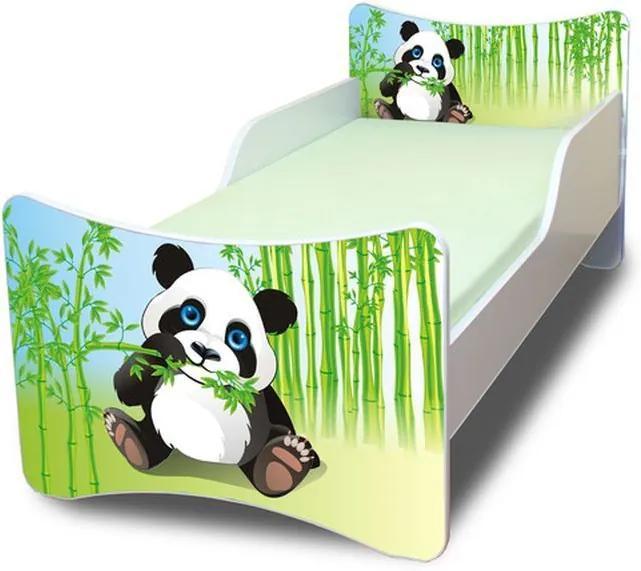 MAXMAX Detská posteľ 180x80 cm - PANDA 180x80 pre všetkých NIE