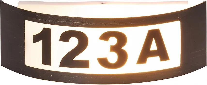 Rábalux 8748 Vonkajšie Nástenné Svietidlá antická zlatá biely E27 1X MAX 14W 31,8 x 10 x 9 cm
