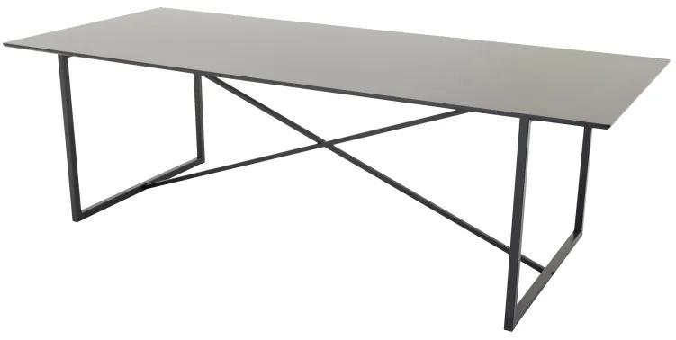 Palace jedálenský stôl čierny 240x100 cm