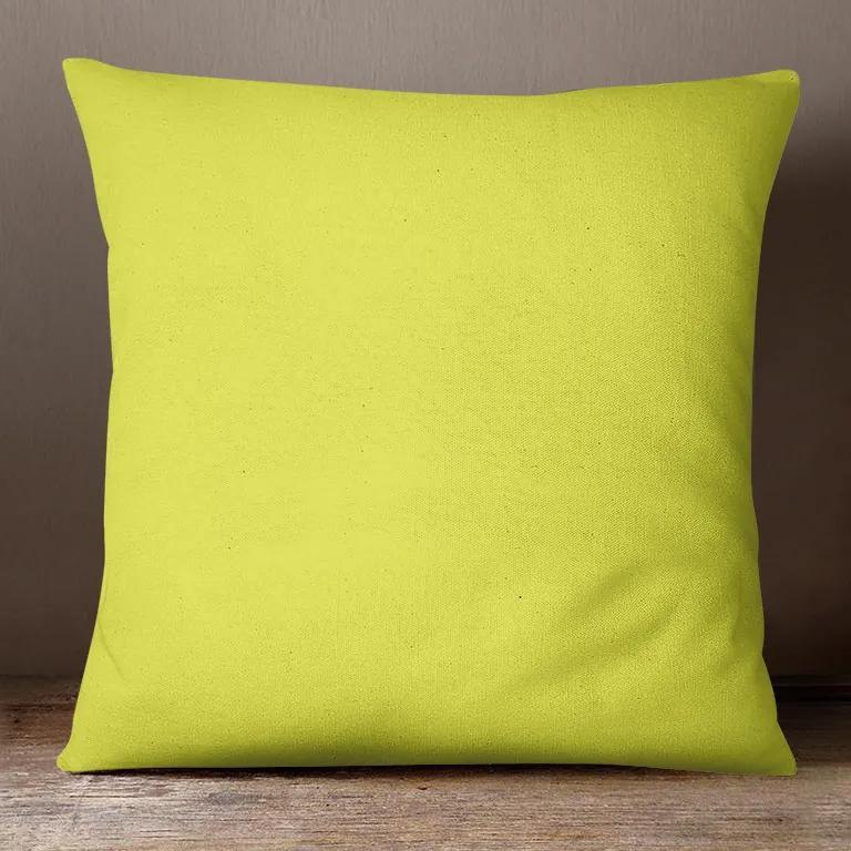 Goldea bavlnená obliečka na vankúš - pistáciovo zelená 30 x 50 cm