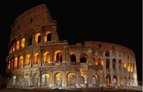 Luxusné vliesové fototapety, rozmer 418,5 cm x 270 cm, Rím, P+S International CL35A