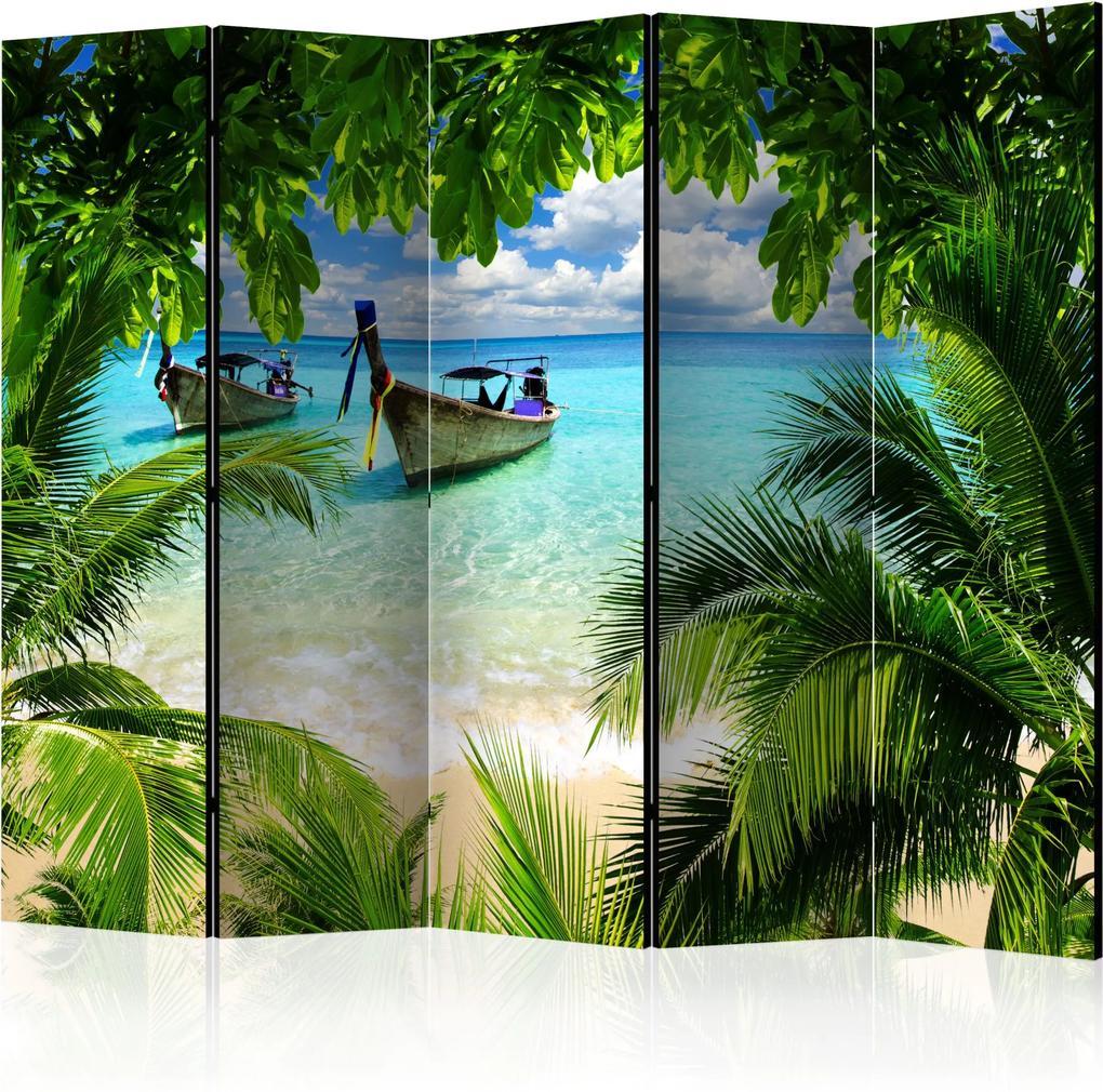 Paraván - Tropical Paradise II [Room Dividers] 225x172