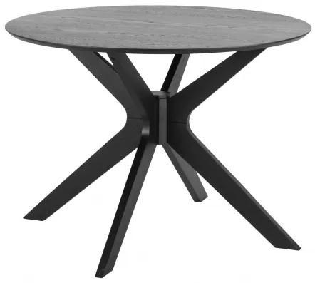 DUNCAN stôl Čierna