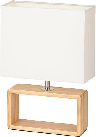 Rábalux 4377 Nočná stolová lampa Freya  drevo E14 MAX 25W IP20