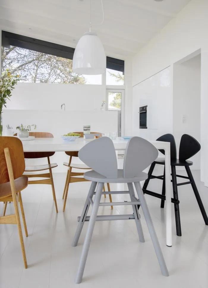 Vysoká stolička Nofred Mouse Junior sivá