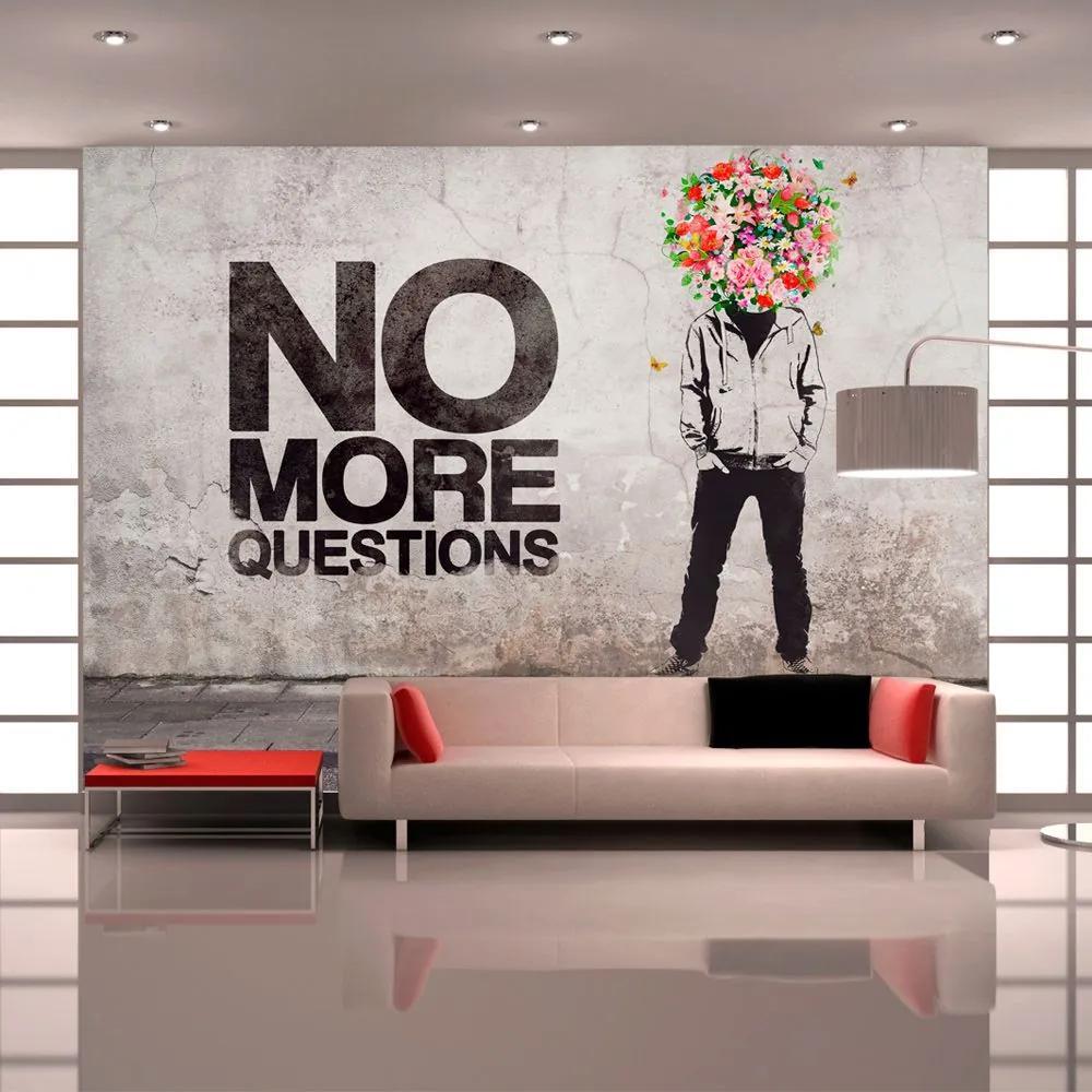 Fototapeta - No more questions 400x280