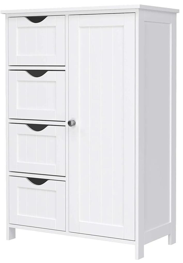 Rongomic Koupelnová skříňka FRANCESCA bílá