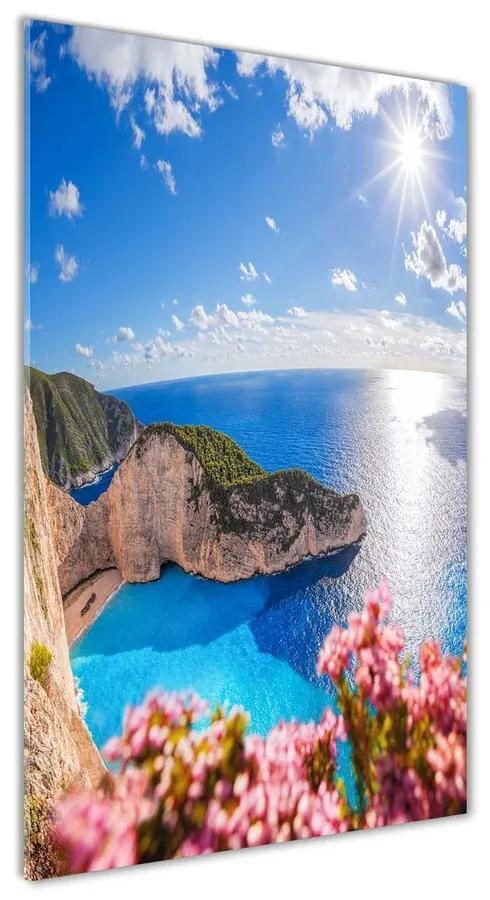 Foto obraz akrylové sklo Zakythos Grécko pl-oa-70x140-f-123899288