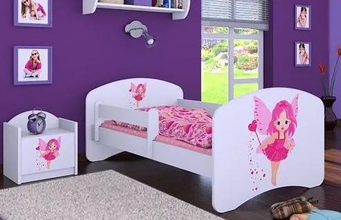 MAXMAX Detská posteľ bez šuplíku 180x90cm VÍLA 180x90 pre dievča NIE
