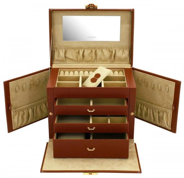 Luxusná šperkovnica Friedrich Lederwaren Cordoba 26391-3