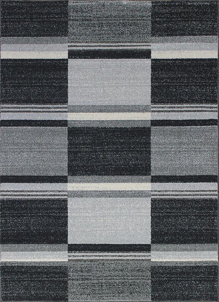Berfin Dywany Kusový koberec Monte Carlo 4058 Silver (Grey) - 60x100 cm