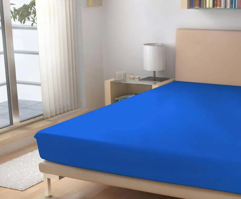 Polášek Plachta froté kráľovská modrá 180/200 cm