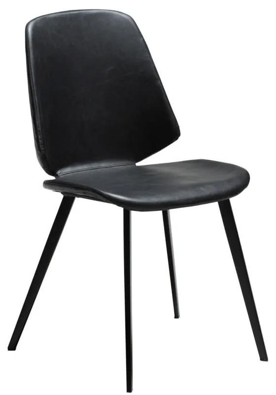 Čierna jedálenská stolička DAN-FORM Denmark Swing