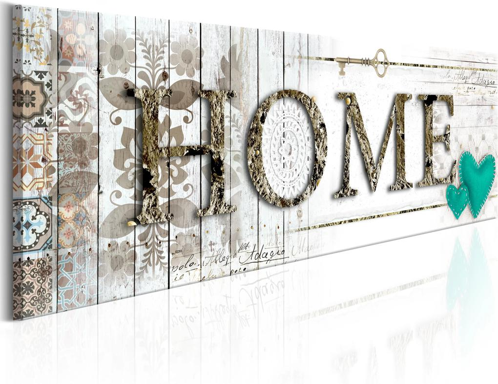 Obraz - Home's Imagery 120x40