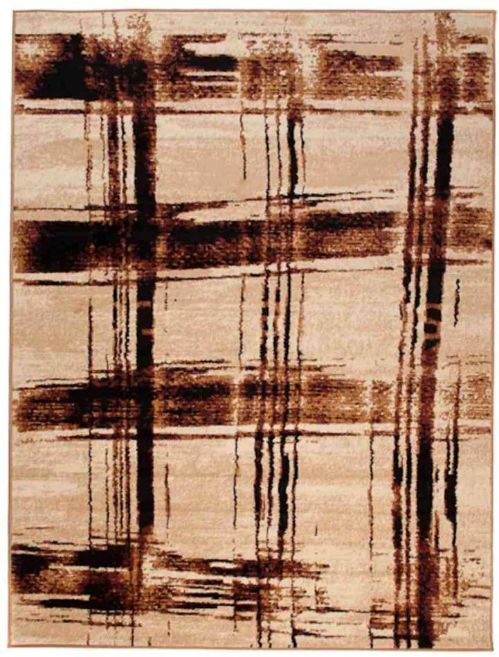 Kusový koberec PP Geox béžový, Velikosti 80x150cm