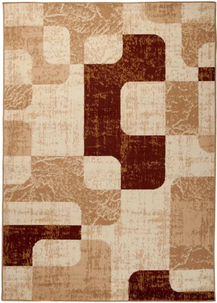 Kusový koberec PP Jona béžový, Velikosti 80x150cm