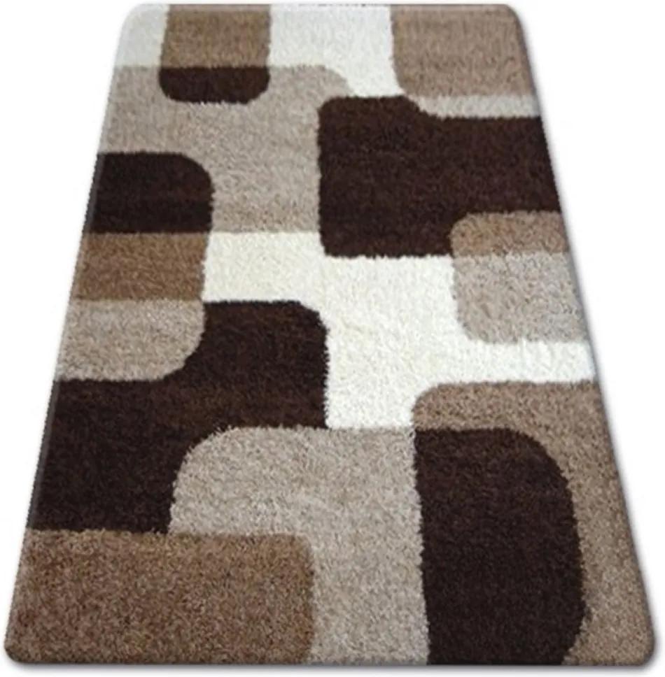 Kusový koberec Shaggy Atone béžový, Velikosti 140x190cm