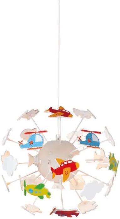 Detské závesné svietidlo - Lietadlá