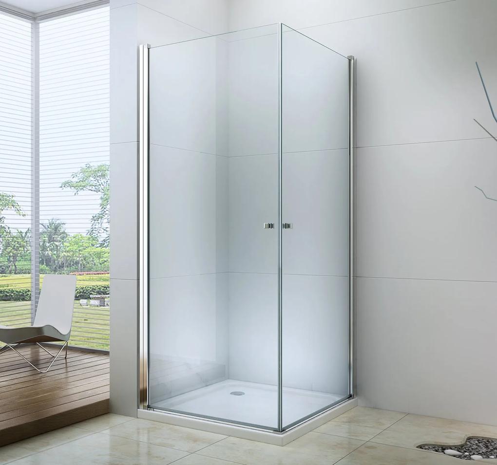 MAXMAX Sprchovací kút Pretor DUO 90x80 cm 90 obdélníkový