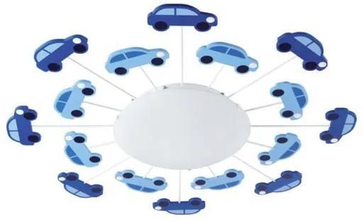 Detské svietidlo EGLO VIKI 1 biela / modrá 92146