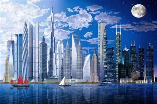 Fototapety, rozmer 366 x 254 cm, Worlds Tallest Buildings, W+G 120
