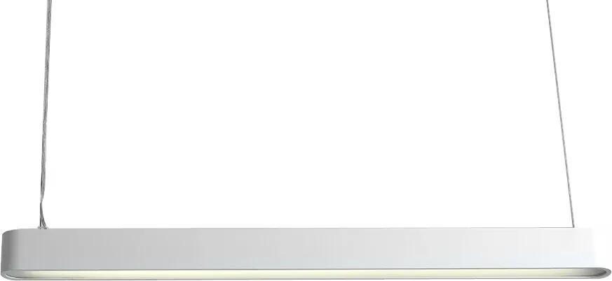 Závěsné světlo Paxon 90x6 cm, bílá SNordic:89708 Nordic+