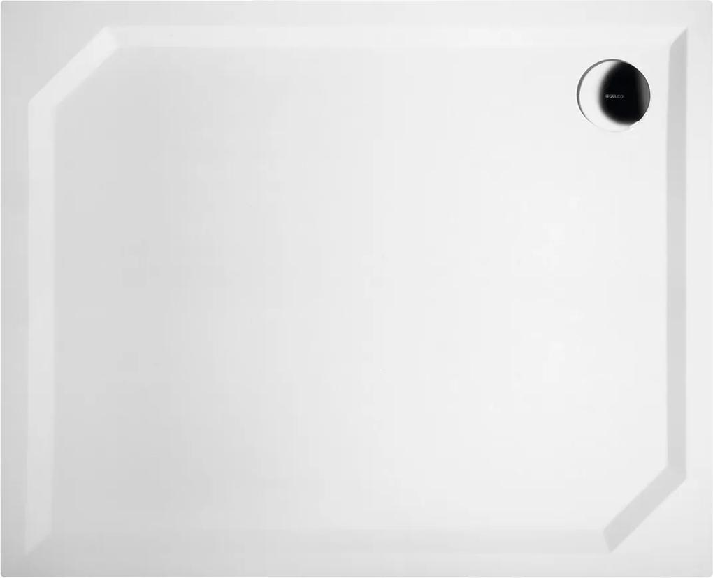 GELCO - SARA sprchová vanička z liateho mramoru, obdĺžnik 110x90x4cm, hladká (HS11090)