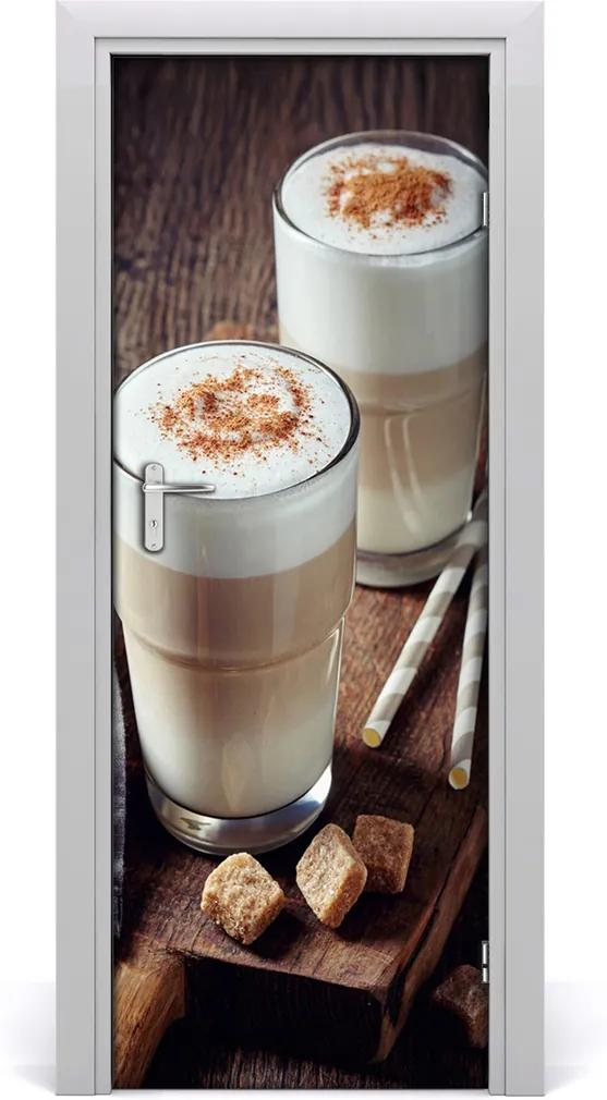 Fototapeta na dveře samolepící Káva latte