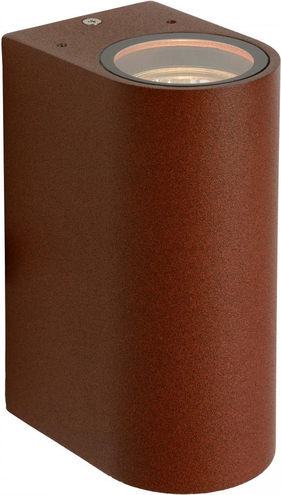 vonkajšie nástenné svietidlo Lucide Boogy 2x8W GU10
