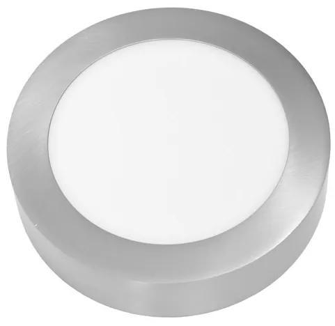SMD kruh prisadený 17,5cm, 12W, 2700K, IP20, 860Lm, chrom