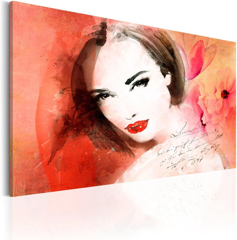 Obraz - Crimson Lady 60x40