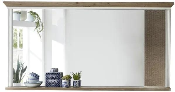 Sconto Zrkadlo JASMIN pínia svetlá/dub artisan