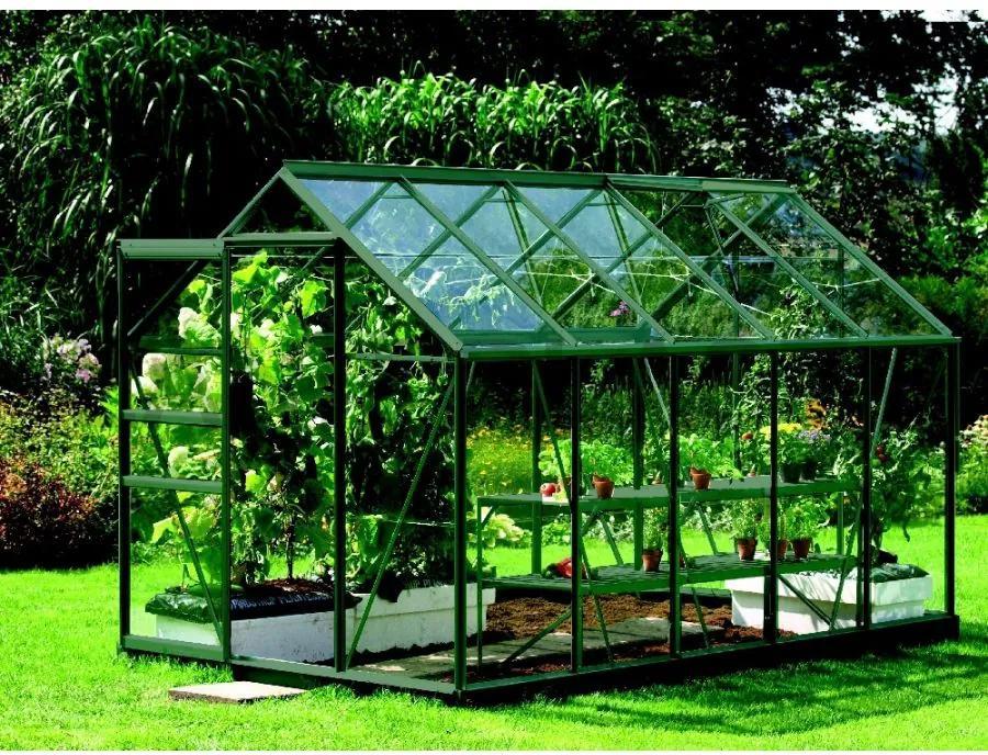 Vitavia Garden - skleník VITAVIA VENUS 6200 číre sklo 3 mm zelený LG1033