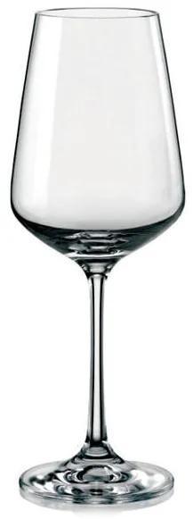 Bohemia Crystal Poháre na biele víno Sandra 40728/250ml (set po 6ks)