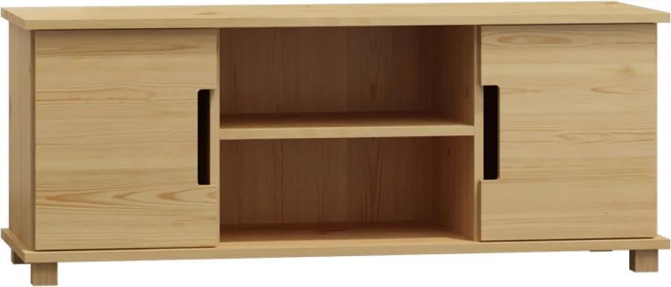 AMI nábytok TV stolek Modern bílá šířka 140 cm
