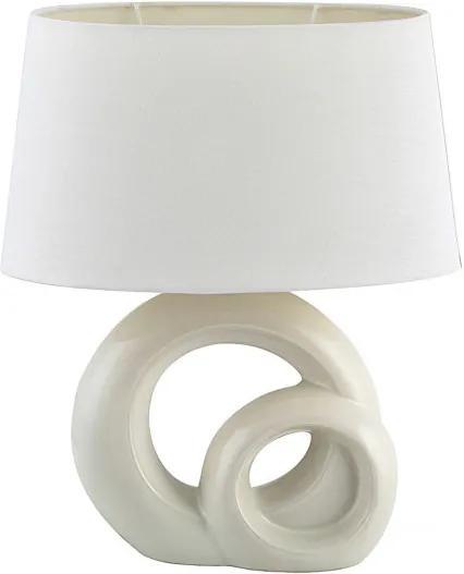 Rábalux 4518 Stolné Lampy biely biely E27 1X MAX 60W