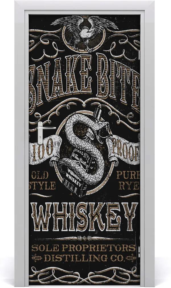 Fototapeta na dveře Whiskey